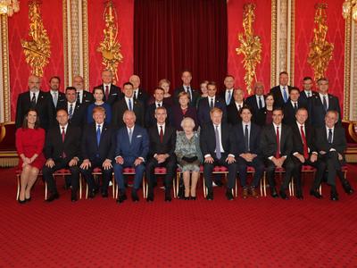 Η αναμνηστική φωτογραφία των ηγετών