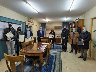 Μεσολόγγι: Ο Δήμος τίμησε τους νεαρούς «...