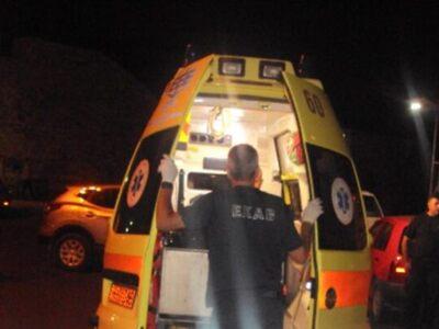 Ναύπακτος: Τροχαίο ατύχημα στο πρώτο γυμνάσιο