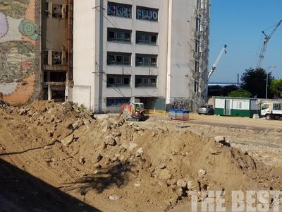 Εργοτάξιο ο χώρος του νέου Υπεραστικού ΚΤΕΛ Αχαΐας - ΦΩΤΟ