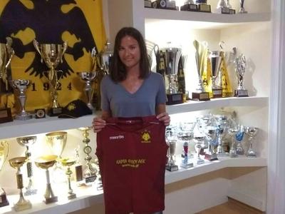 Υπέγραψε στην ΑΕΚ η Αλίκη Σπηλιωτοπούλου
