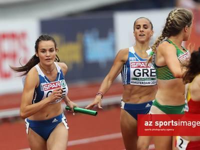 Στήριξη της ομοσπονδίας στην ομάδα 4Χ400 μ. των γυναικών