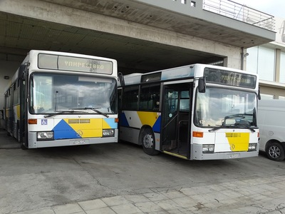 Mε αστικού τύπου λεωφορεία πλέον η μεταφορά των επιβατών στους σταθμούς του Προαστιακού Πατρών