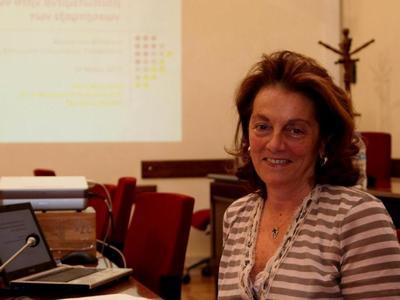 Μια καταξιωμένη επιστήμονας στο ευρωψηφοδέλτιο του ΚΙΝΑΛ - Στην Πάτρα σήμερα η πατρινή υποψήφια ευρωβουλευτής Μένη Μαλλιώρη