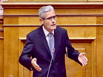 Ο Άγγελος Τσιγκρής στη Βουλή για το βιασμό παιδιών και το τροχαίο στις Καμάρες – ΒΙΝΤΕΟ