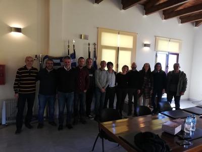 Δεύτερη εταιρική συνάντηση του έργου CREATIVE CAMPS στην Αιγιάλεια