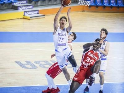 Πικρή ήττα για την Εθνική παίδων από την Τουρκία