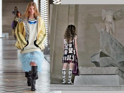 Συγκίνηση: Όταν η Louis Vuitton στέκεται...