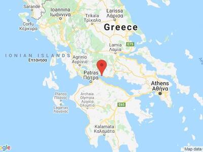 Ισχυρός σεισμοί 4,8 Ρίχτερ ΤΩΡΑ στη Δυτι...