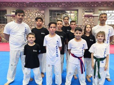 """Οι μικροί αθλητές της Δύναμης στο """"KIM E LIU"""""""