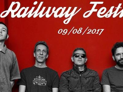 Στο 5ο Railway Festival, στο Βαρθολομιό ο Παύλος Παυλίδης και οι B-Movies