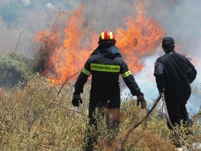 Πρέβεζα: Σε εξέλιξη φωτιά στο Νάρκισσσο