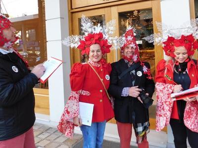 Γιορτινό κλίμα στην Πάτρα από τις εκδηλώσεις του Εμπορικού Συλλόγου
