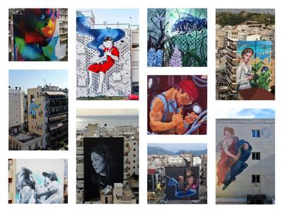 Υπαίθρια γκαλερί η Πάτρα - Την Κυριακή η ξενάγηση στα 10 νέα έργα του φετινού ArtWalk