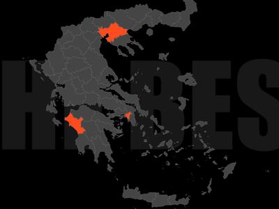 Κορωνοϊός: Live ενημέρωση για τα κρούσματα στην Ελλάδα - Διαδραστικός χάρτης