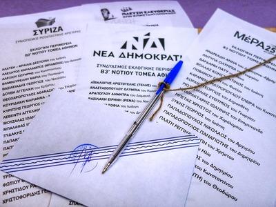 ΣΥΡΙΖΑ: Ποιοι υποψήφιοι βουλευτές προηγ...
