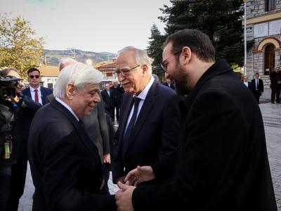 Παυλόπουλος από Καλάβρυτα: Eνεργές οι αξ...