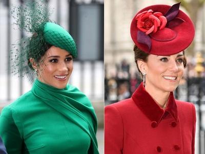 Megxit: Η τελευταία κόντρα σε χρώματα, ρούχα και καπέλα στο Westminster Abbey