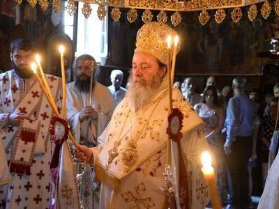 ΔΕΙΤΕ ΦΩΤΟ από την εορτή των Αγ. Πάντων στο Βελιμάχι Τριταίας
