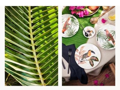 Tropical Fever: Όπως και στην ένδυση, ο συναρπαστικός κόσμος της ζούγκλας χρωματίζει στο σπίτι