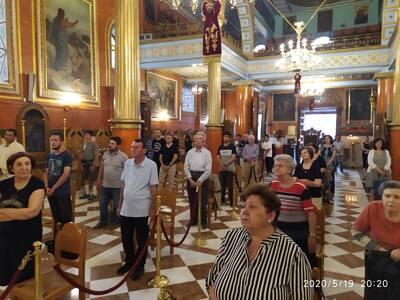Με λαμπρότητα εορτάστηκε στην Πάτρα η ανακομιδή των λειψάνων του Αγίου Νικολάου
