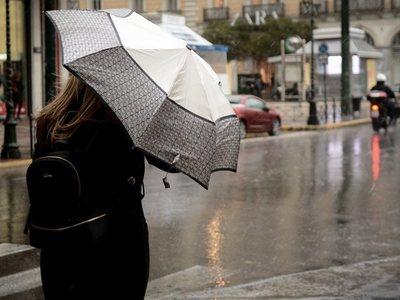 Βροχές, καταιγίδες και χαλάζι σήμερα και στα Δυτικά