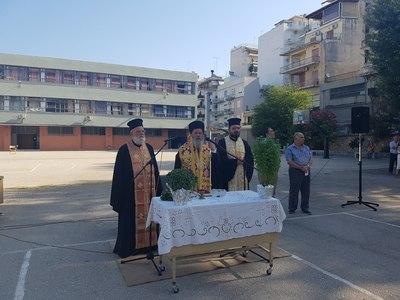 Στον αγιασμό 5 σχολείων πήγε ο Επίσκοπος Κερνίτσης κ. Χρύσανθος