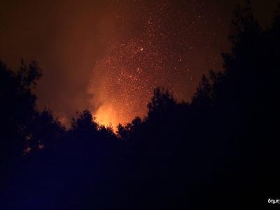 Πάτρα: Έσβησε η φωτιά στο Πετρωτό