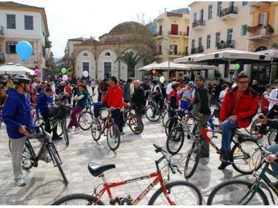 Διακόσιοι Γερμανοί ποδηλάτες έρχονται στο Ναύπλιο σε μία βόλτα υπέρ της Ελλάδας