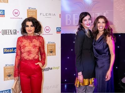 Prix de Beaute: Νίνα Λοτσάρη και Αντιγόνη Κουλουκάκου απένειμαν διακρίσεις ως πρότυπα ομορφιάς