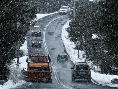 Καλλιάνος: Σφοδρές χιονοπτώσεις το Σάββα...