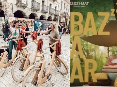 Τα ξύλινα ποδήλατα της COCO-MAT αναστάτωσαν το κέντρο της Πάτρας