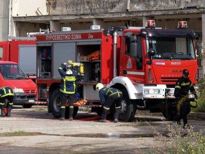 Πάτρα: Φωτιά σε ακατοίκητο στην Ερενστρώλε