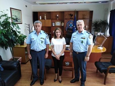 Η Χριστίνα Αλεξοπούλου στην ηγεσία της τοπικής Αστυνομίας