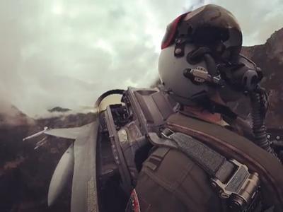 Μία... χαμηλή πτήση με F16 μέσα στο φαράγγι του Βουραϊκού! Κόβει την ανάσα- ΒΙΝΤΕΟ