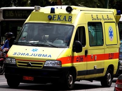 Τροχαίο με έναν τραυματία στα Μποζαΐτικα της Πάτρας