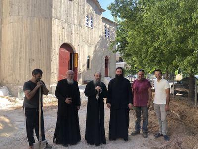 O Μητροπολίτης Πατρών επέβλεψε τις εργασίες στο ναό Αγ. Διονυσίου Αρεοπαγίτου -ΔΕΙΤΕ ΦΩΤΟ