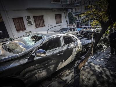 Αναρχικοί πίσω από το μπαράζ των εμπρηστικών επιθέσεων στην Αθήνα
