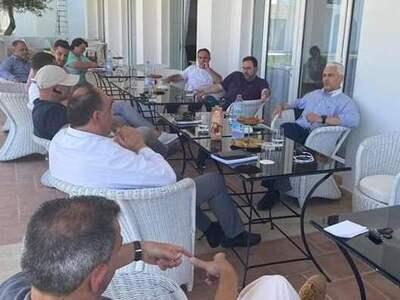 Συνάντηση Φωκίωνα Ζαΐμη με επαγγελματίες...