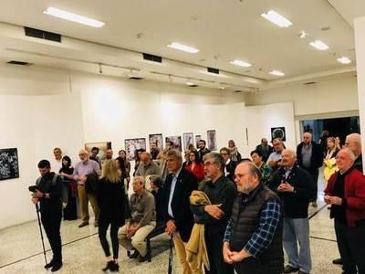 "Eγκαινιάστηκε η έκθεση του Λεωνίδα Κουργιαντάκη στις ""Μέρες Φωτογραφίας 2019"""