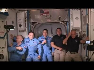 Ο «Ωρίων» κατέγραψε το πέρασμα του ISS και την αποστολή Crew Dragon πάνω από την Πάτρα -ΔΕΙΤΕ ΦΩΤΟ