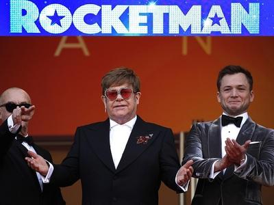"""Δάκρυα από τον Ελτον Τζον στην πρεμιέρα του """"Rocketman"""" στις Κάννες. Η αποθέωση και το red carpet"""