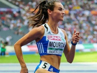 Η Δέσποινα Μουρτά 3η θέση με την 4Χ400μ.
