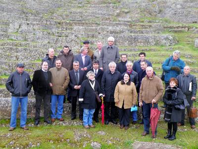 Επίσκεψη Μπένου στο Αρχαίο Θέατρο Αιγείρας