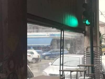 Το φάναρι μέσα σε καφετέρια της Πάτρας &...