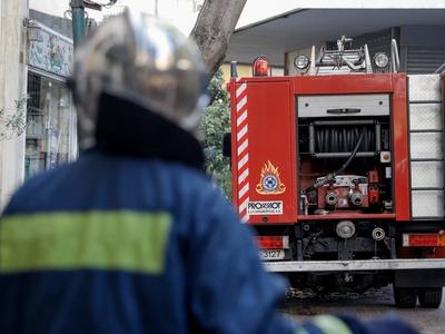 Κάηκε ολοσχερώς ψησταριά στην Αμαλιάδα