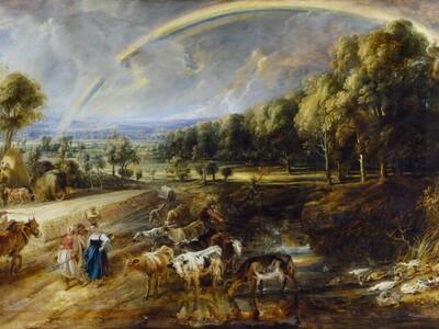 Rubens, Rainbow Landscape: © Trustees of...