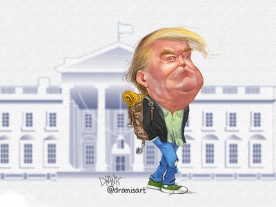 Η αποχώρηση Τραμπ από τον Λευκό Οίκο με ...