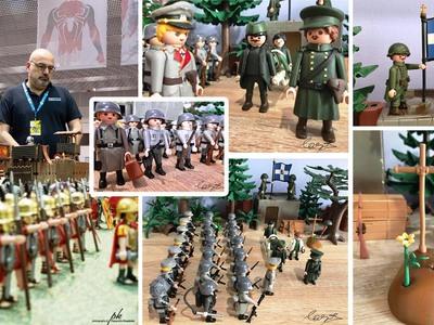 Δείτε τη  Μάχη των Οχυρών σε playmobil!
