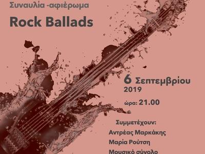 Συναυλία - αφιέρωμα σε ροκ μπαλάντες από την Χορωδία Αντηχώ